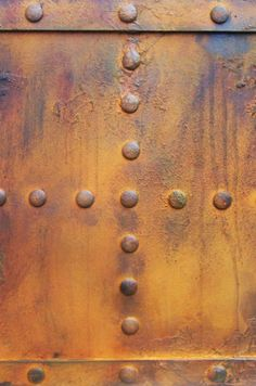 Finishes  ~ Rust wall finish...