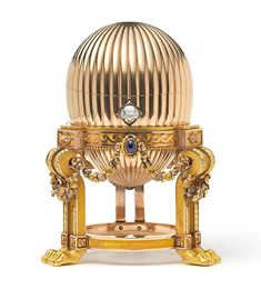 Exquisite: A scrap metal dealer discovered this $33 million (£20million) Faberge egg at a bric-a-brac stall