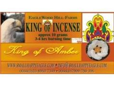 King of Amber is a lovely, perfumed amber that gets better the more you burn it, it definitely bears similarities to Dhuni's versions and would think fans of the Dhuni should find these different enough to enjoy as well - review by mike McLatchey - Olfactory Rescue Service http://happyhariincense.com