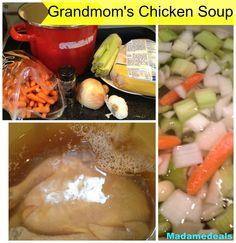 Grandmom's Chicken Soup #recipe #soup