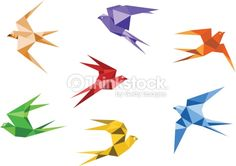 geometric bird - Google Search