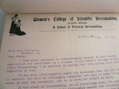 Women's College of Scientific Dressmaking by VintagePatternDrawer, $19.95