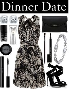 """Dinner Date"" by mybouton ❤ liked on Polyvore"