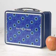 Magen Gimel Fractal Metal Lunch Box - home gifts ideas decor special unique custom individual customized individualized