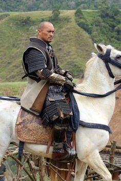 "Katsumoto played by Ken Watanabe in ""The Last Samurai"""