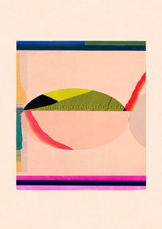Jesús Perea / 2015 Abstract composition 587 Giclee print - 60 x 84 cm Limited…