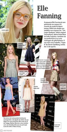 Elle Fanning - Conteúdo criado para o blog da marca de calçados Hetane.