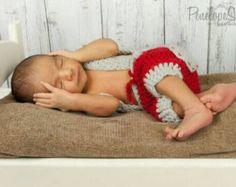 Recién nacida prop foto / mameluco del bebé de por GabriCollection