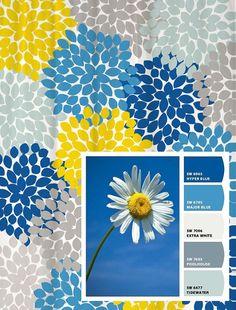 Yellow Blue Grey Chevron Stripes Shower Curtain | Striped shower ...
