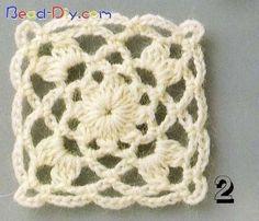 Crochet and knitting Grannies Crochet, Crochet Doilies, Crochet Flowers, Crochet Lace, Crochet Square Blanket, Crochet Blocks, Crochet Squares, Crochet Motif Patterns, Crochet Stitches
