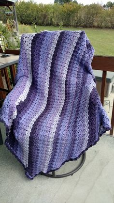 This is a c2c or Corner to Corner crochet pattern, here is a couple of links http://www.ravelry.com/patterns/library/corner-to-corner-c2c-corner-start-tutorial  http://www.redheart.com/free-patterns/crochet-corner-corner-throw
