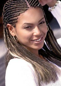 Young Teen Beyonce Natural Beauty Braids Cornrows Medium Length African American Back To School Hairstyle Destiny's Child Girl Group Kids Style Hair Inspiration Ideas Beautiful Famous Celebrity Black Women Back To School Hairstyles, 90s Hairstyles, African Braids Hairstyles, Celebrity Hairstyles, Black Women Hairstyles, Braided Hairstyles, Kids Hairstyle, Protective Hairstyles, Beyonce Photoshoot
