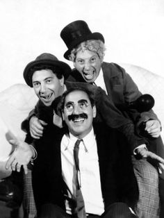 The Marx Brothers Pose for a Publicity Portrait During Production of a Night at the Opera, 1935 Premium Poster