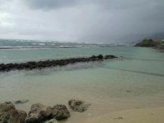 Serene beach beckoning my footprints in it's sand #loveisfree