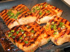 South Beach Phase 1 grilled salmon with rosemary - made this last night