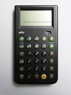 Braun Calculator; had one back in the 80s; LOVED IT!