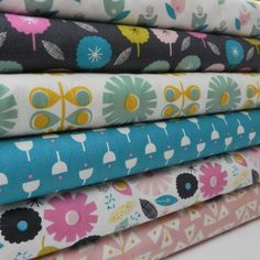 Dashwood Flurry Candy Pink 100/% Cotton Sew Quilt FQ 1//2m Meter FREEPOST