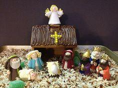 Catholic Cuisine: Happy Birthday Jesus Cupcakes & A Gingerbread Manger