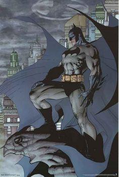 Batman Guardian of Gotham DC Comics Art Poster 22x34