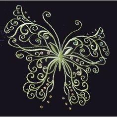 This is a beautiful butterfly - One of the designers from OregonPatchWorks. I have become addicted to collecting embroidery butterfly designs.