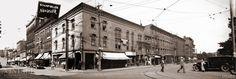 Corner of King's Square North and Charlotte Street, circa 1925