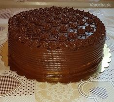 Čokoládová torta Croatian Recipes, Tasty, Yummy Food, Best Cake Recipes, Sweets Cake, Mini Cheesecakes, Sweet Desserts, Yummy Cakes, Chocolate Cake