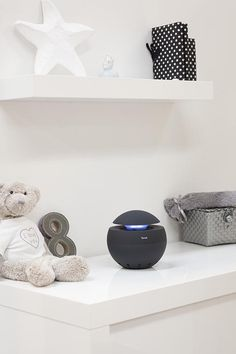 Duux Air Purifier is the most beautiful we've seen, and so small + pretty