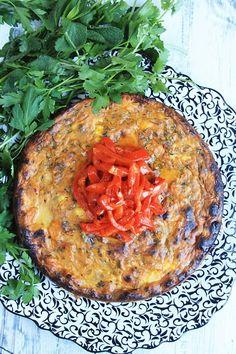 Sweet Potato and Feta Tortilla