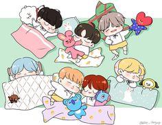 BTS♡ Goodnight