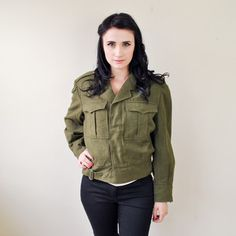 Military Bomber Coat, now featured on Fab.