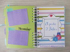 helipapeles@gmail.com Scrapbooking, Bold Colors, Twins, Pregnancy, Paper Envelopes, Scrapbook, Scrapbooks, Memory Books, The Notebook