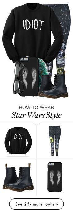"""""""My style✌️"""" by glamandgloss01 on Polyvore featuring Dr. Martens"""