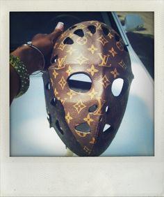 lv goalie mask