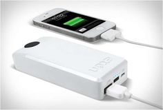 Electricity-Free Smartphone Chargers. Wonder if I can get a USB adapter for my laptop..