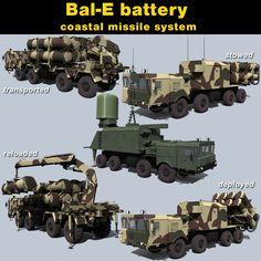 3d battery bal e model