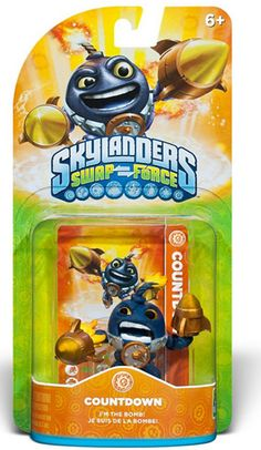 FREE Skylanders Swap Force Character With Purchase!