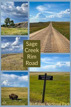 Badlands Sage Creek Rim Road - TRIPS TIPS and TEES