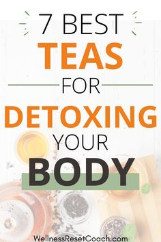 These detox teas will help cleanse your body and speed up fat loss. The best part? They're all 100% natural and you probably have some in your pantry right now. Whether you're ready to lose 10 pounds or 20+ pounds, be sure to add these fat burning detox teas to your daily routine. #detoxteas #cleanse #fatburn #healthydrinks #weightlossdrinks #weightlossmeals #detoxcleanse #detoxwater Detox Diet For Weight Loss, Weight Loss Tea, Weight Loss Drinks, Detox Juice Recipes, Tea Recipes, Clean Eating Tips, Best Detox, Flat Belly Diet, Detox Your Body