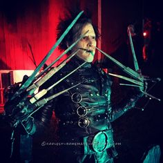Coolest Handmade Edward Scissorhands Costume... Coolest Halloween Costume Contest