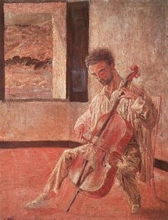 Portrait of the Cellist Ricard Pichot - Salvador Dali