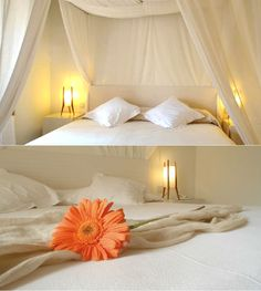 Hotel Can Simoneta is located on the north-east coast of Mallorca, two minutes away from Canyamel. Four Poster Bed, Spain, Boutique, Flower, Room, Furniture, Home Decor, Majorca, Bedroom