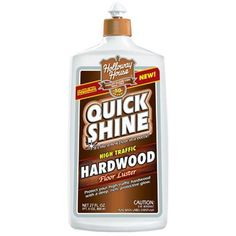 Holloway House Holloway House Quick Hardwood - Hardwood - Case of 6 - 27 Fl oz. Restores the Richness, Color and Beauty of Hardwood Floors Pure, Natural, Plant Hardwood Floor Care, Hardwood Floors, Holloway House Quick Shine, Floor Finishes, Cleaning Hacks, Cleaning Solutions, Cleaning Wood, Cleaning Products, Restoration