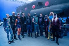 Flula Borg, Michael Rooker, Captain Boomerang, James Gunn, Margot Robbie Harley Quinn, Superhero Stories, Den Of Geek, Ensemble Cast, Pop Collection