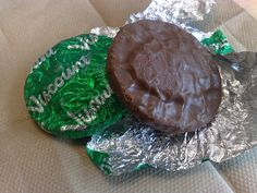 Viscount Mint biscuits....another Christmas treat...