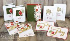 Lisa's Creative Corner: October Project Kit - Boxed Christmas Card Kit