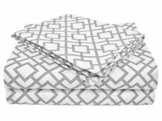 American Baby Company 100% Cotton Percale Toddler Bedding Sheet Set, Gray Lattice, 3 Piece American Baby Company http://www.amazon.com/dp/B00I0MDYDU/ref=cm_sw_r_pi_dp_uzrVub1PVRF0V