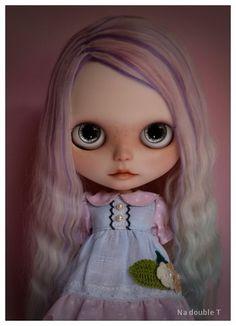 OOAK Rerooted Custom Blythe Art Doll By Natt #53 (◑‿◐) Nomad Kuma ❥❥ ❥ ❥ ❥