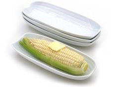 Set of 4 Porcelain Corn Dishes by BIA Cordon Bleu at Butter Bell® Store