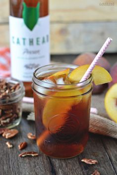 This peach- and pecan-infused cocktail will fuel your sweet tea addiction come fall.  Get the recipe at Beth Cakes.  MORE: 20 Sweet Tea Recipes That Will Make Your Life Sweeter