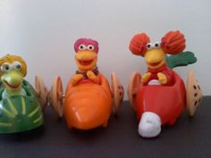 Fraggle Rock These Fraggle Rock toys were given away at McDonald's in the late 1980's. I loved that show :)